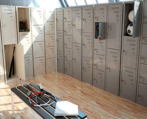 Lockers de Metal